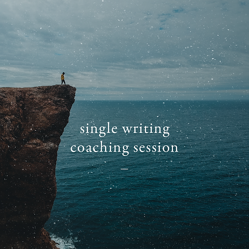Single Writing Coaching Session | Get Paired With an Experienced Writing Coach
