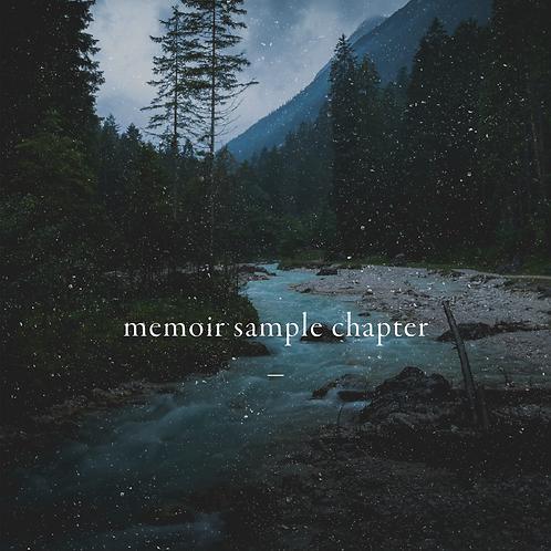Memoir Sample Chapter