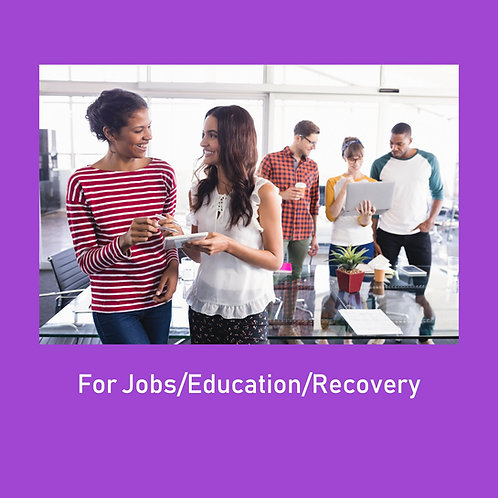 Any Donation For Job Recovery