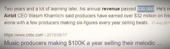 music producers make a lot of money 2021