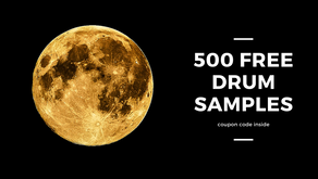 Free 500 drum samples | Coupon Code: HIREFREE | HireProducer