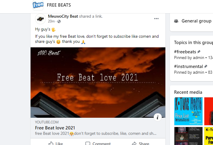 music marketing in facebook