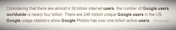music marketing via google