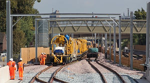 concreting train begins first journey on
