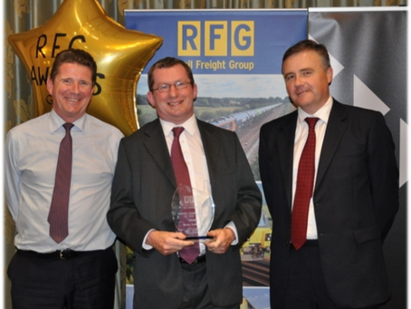The Rail Freight Group's Business of the year.