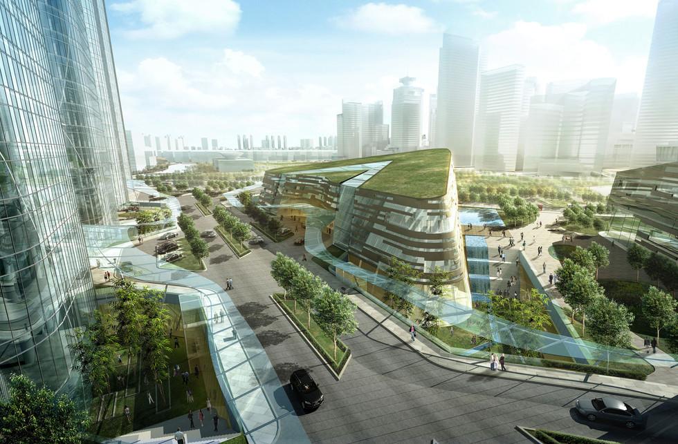 Zhuyuan Finanz Zentrum, Shanghai