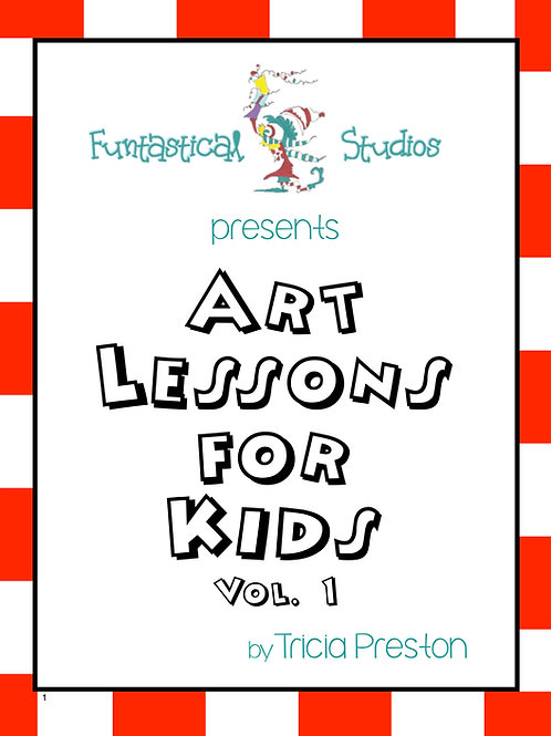 Art Lessons For Kids: Volume 1 pdf download