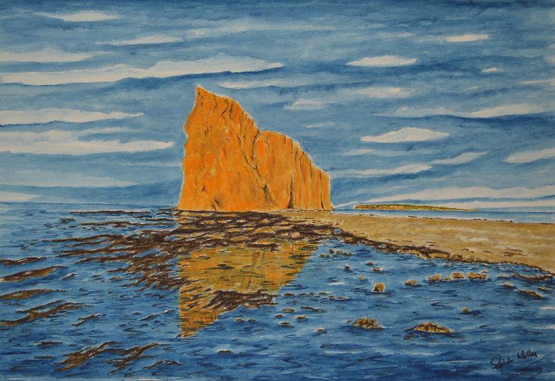 Le Rocher Percé (sans encadrement)