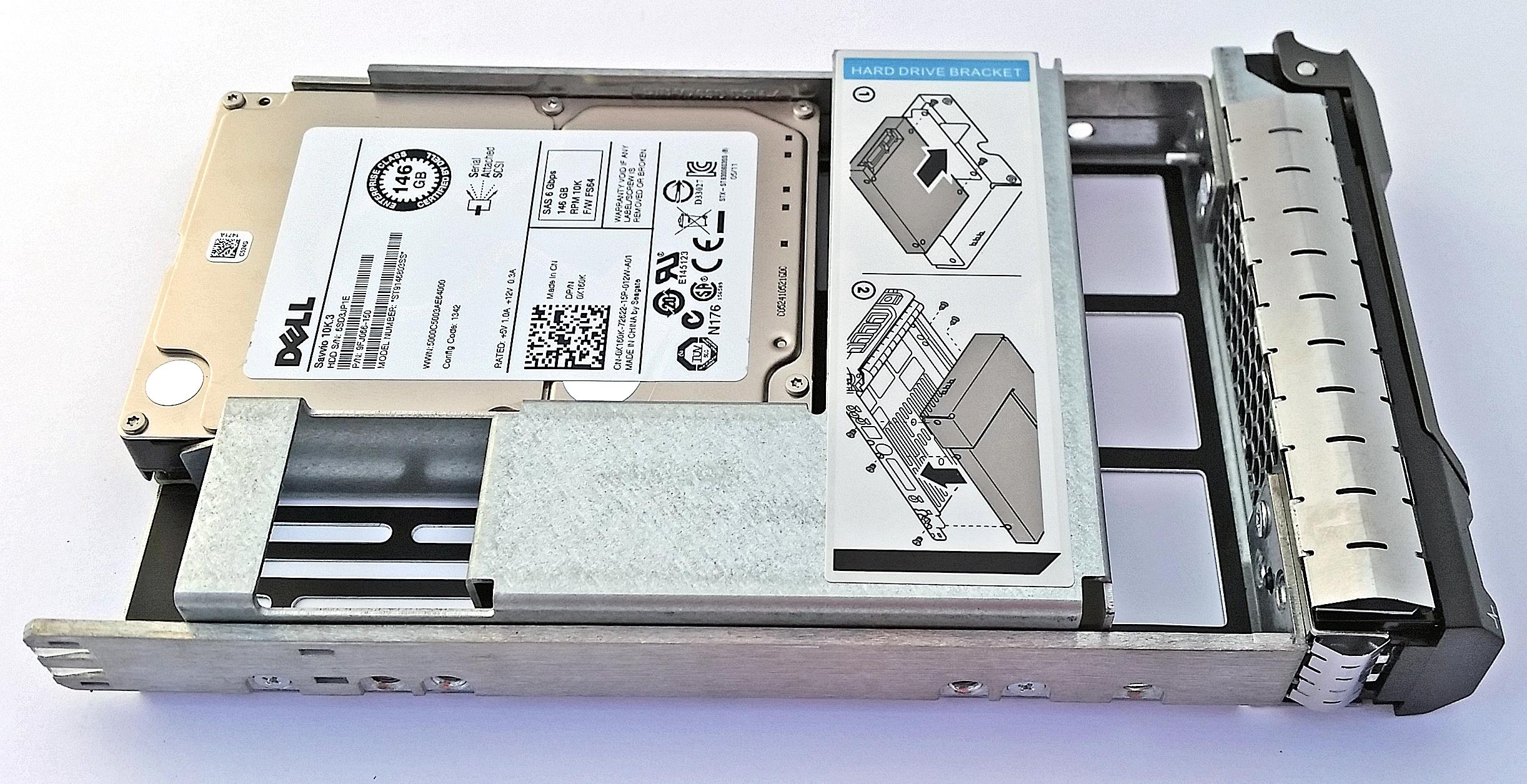 3 5-inch Hard Drive Caddy Tray 9W8C4 F238F KG1CH