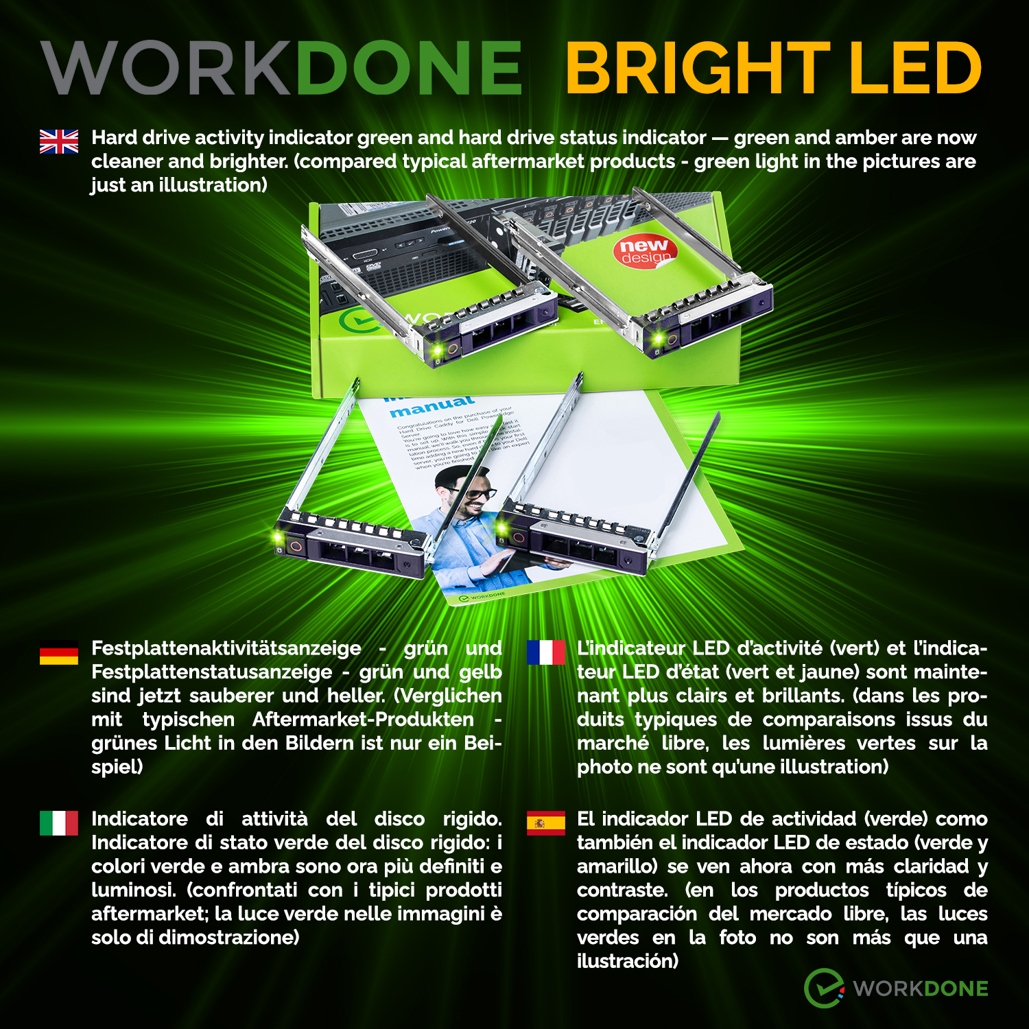 BRIGHT LED 2021 14th  4-PACK 2.5