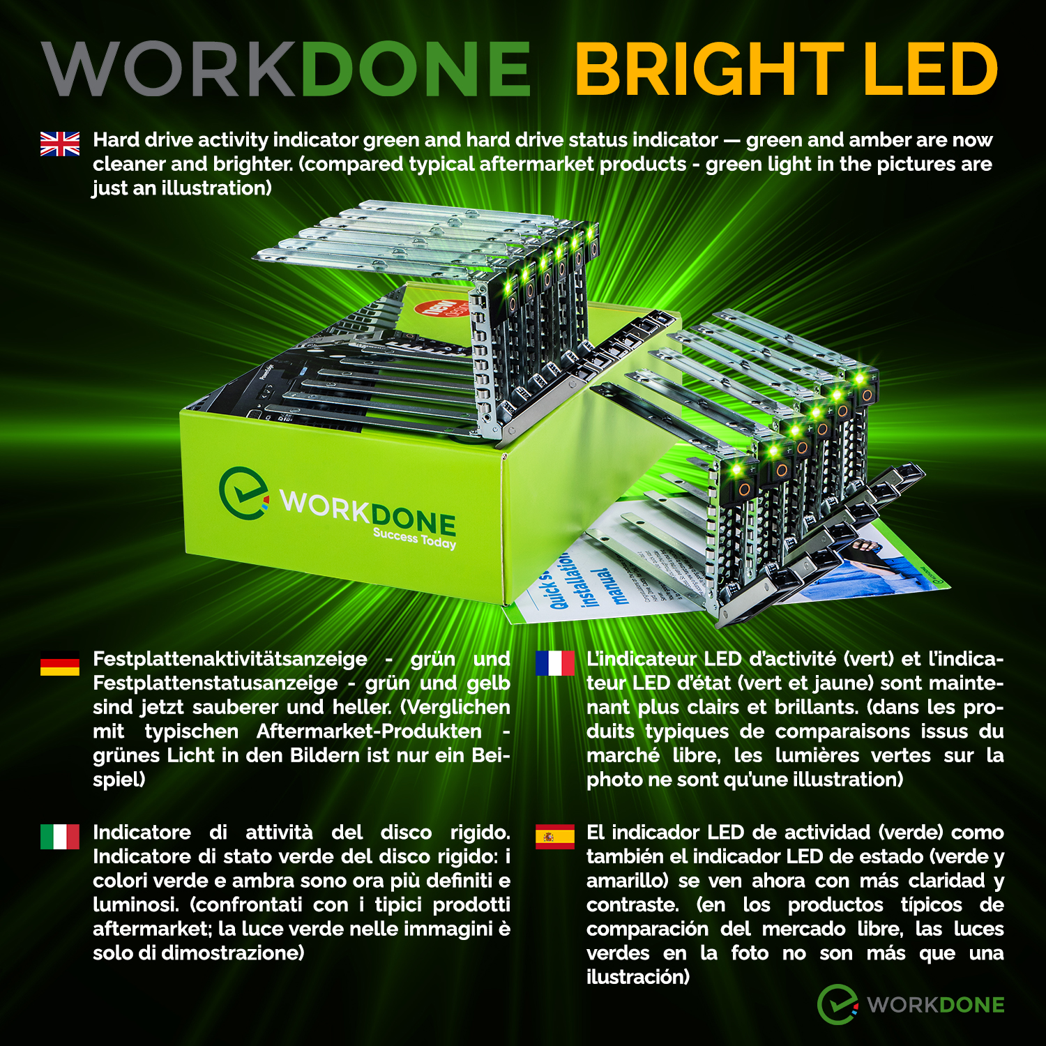 BRIGHT LED 2021 14th 12-PACK 2.5