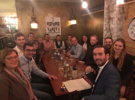 DinnerWithShakespeareWJKANov2018 Gruppen