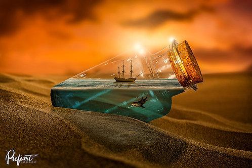 """""""Water in the Desert"""" von Picfiart"""