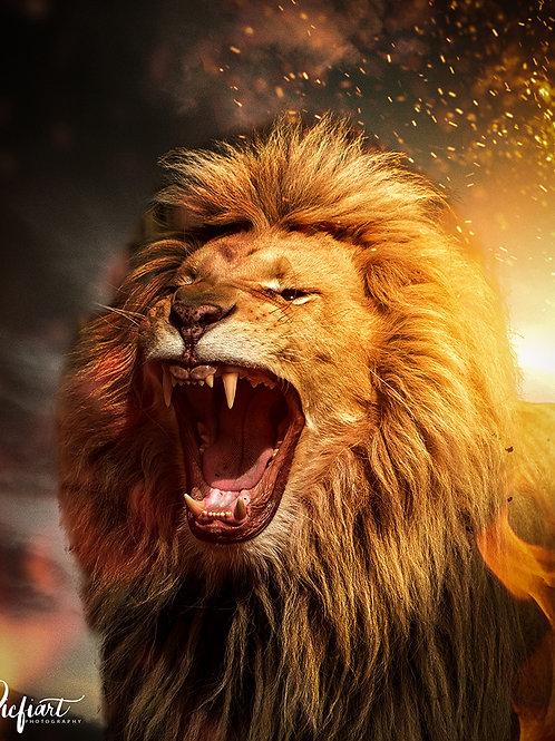"""""""Lion King"""" von Picfiart"""