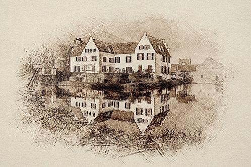 """""""Burg Heimerzheim"""" von Picfiart"""