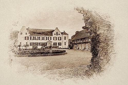 """""""Burg Heimerzheim 2"""" von Picfiart"""