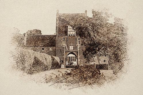 """""""Burg Heimerzheim 1"""" von Picfiart"""