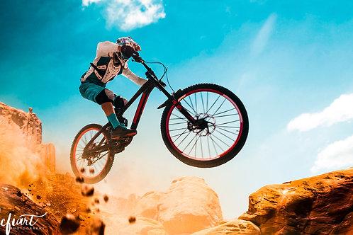"""""""Downhill High"""" von Picfiart"""