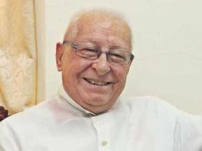 Chancery Notice - Obituary Rev. Fr. Peter Bretaudeau MEP (2nd Sept 2021)