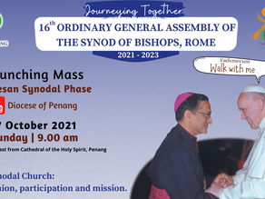 Launching Mass - 16th Ordinary General Assembly of the Synod of Bishops