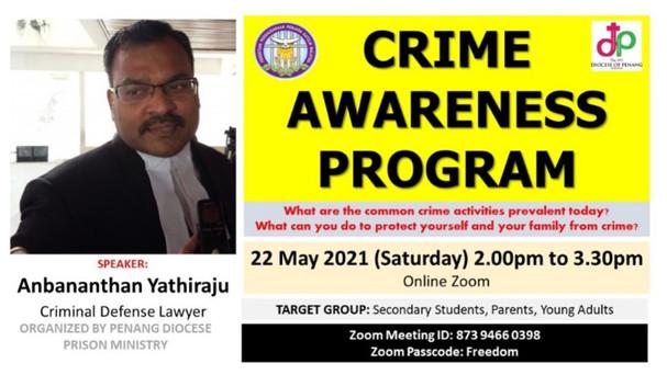 Crime Awareness Program (22 May 2021 afternoon)
