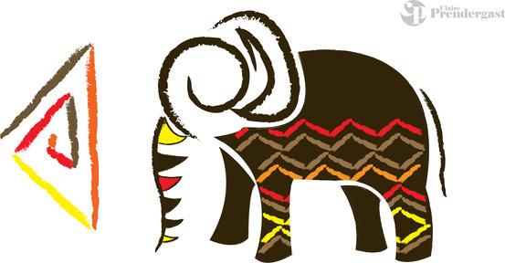 Zoo Sign - Elephant