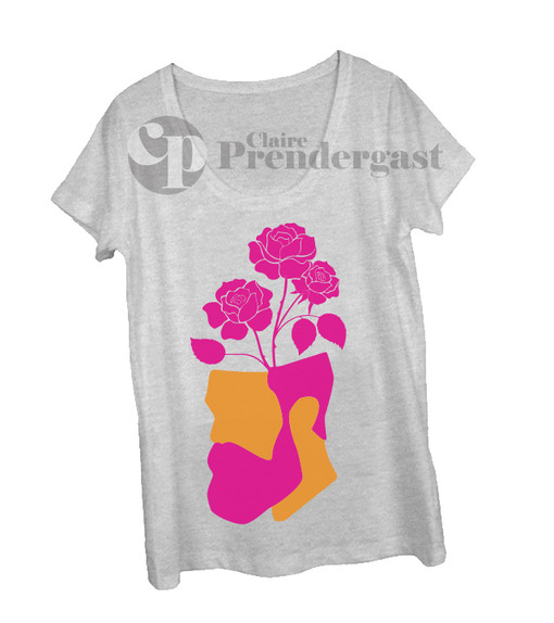 On t-shirt example