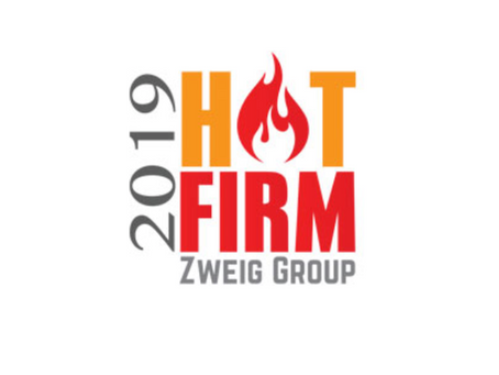 Ardurra ranked #4 on Zweig's 2019 Hot Firms List