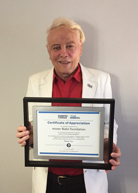 Recognition from Diabetes Canada