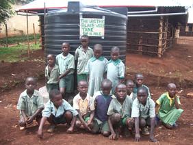 water tank in Kenya
