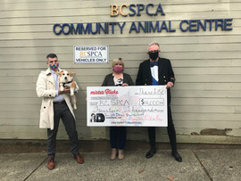 Donation to BCSPCA