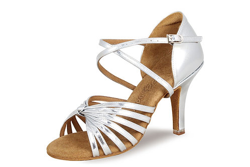 2398 Silver/Gold Leather