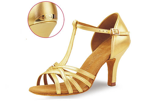 2387 Gold/Silver Leather