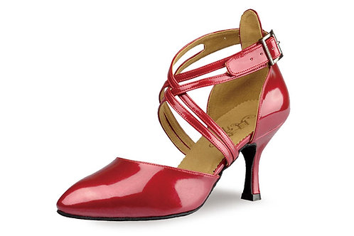 110 Red Patent