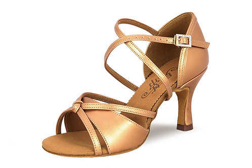2376 Tan/Gold/Silver Leather