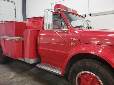 Job Highlight: '71 Chevy Firetruck