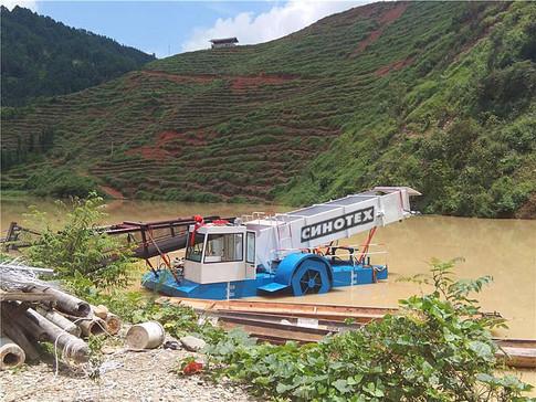 Плавающий мусоросборщик WS-2000