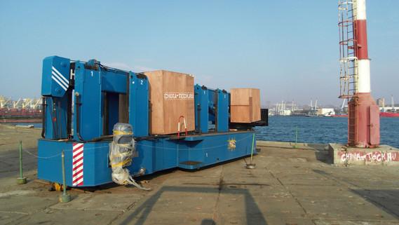 СВУ DTZ360 в порту