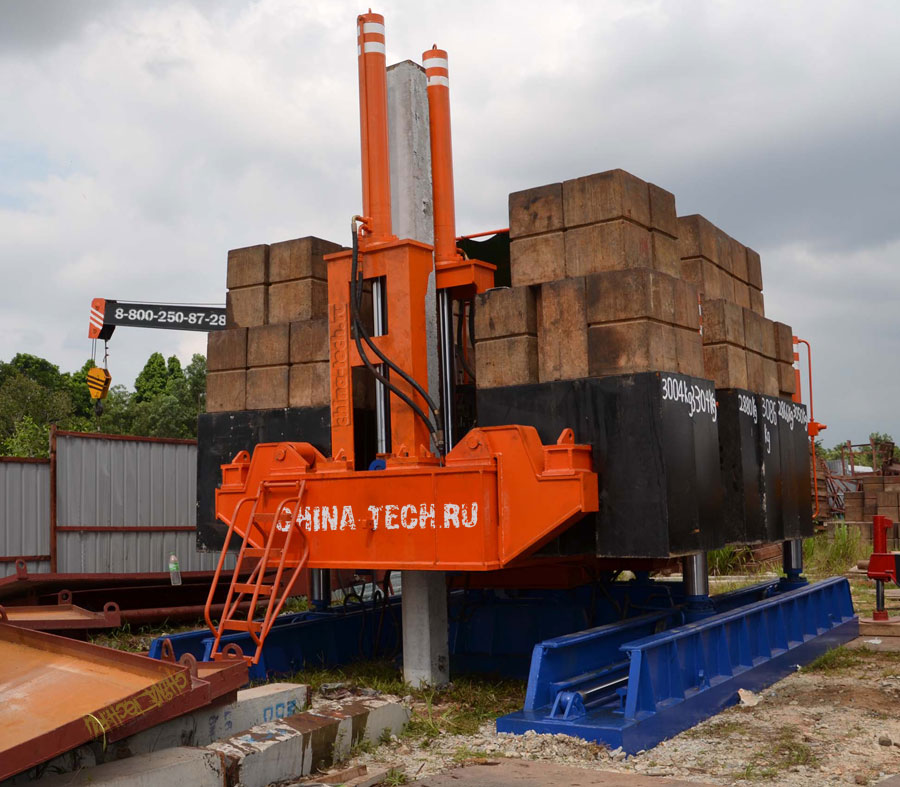 Сваевдавливающая установка DTZB100