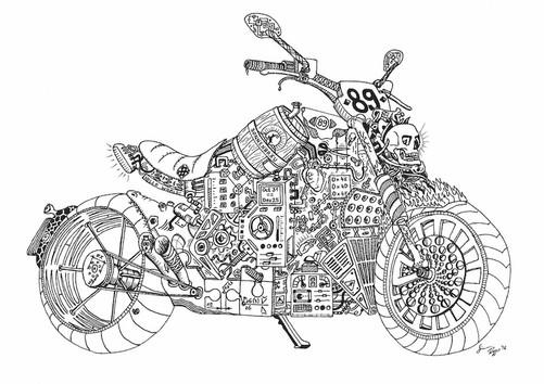 How does a bike work?