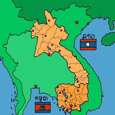 Cambodia / Laos December
