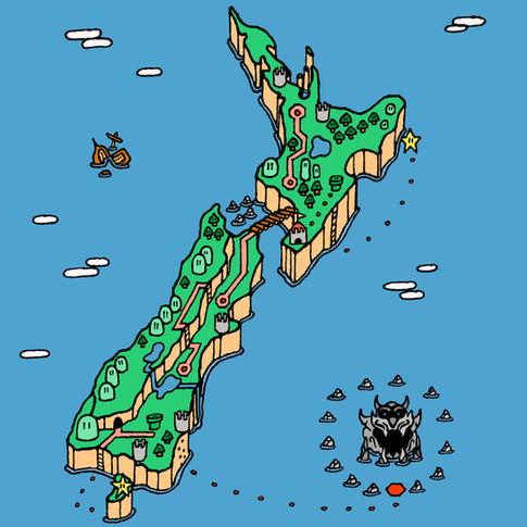 New Zealand April