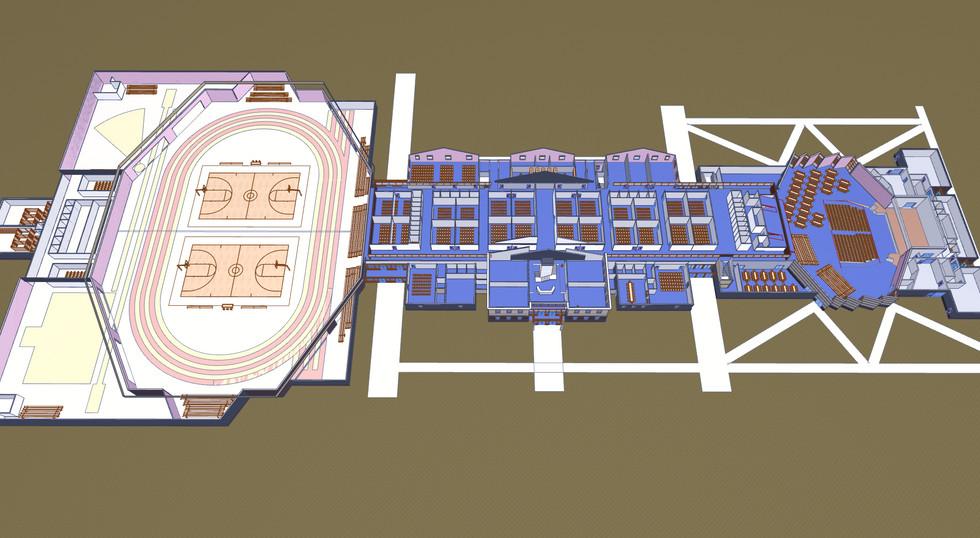 Second Floor - Plan Perspective