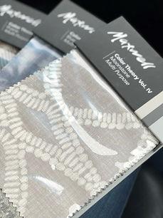 grey pattern maxwell fabric