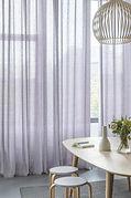 lavender or purple sheer curtains