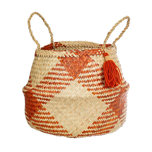 Red Seagrass Basket