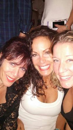 Me, Glenda and Nicole at Count Basie Tea
