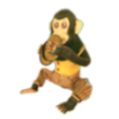 Vintage-Musical-Jolly-Chimp-Monkey-Clapp