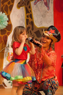 Miss Sherri and the little animal band will be appearing at Riverfest Saturday at 11 o'clock May 30