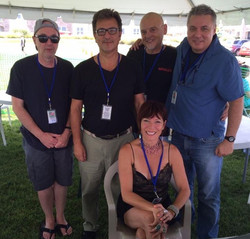 The Sherri pie project at the Jersey shore jazz and blues festival yesterday in Long Branch was dyna
